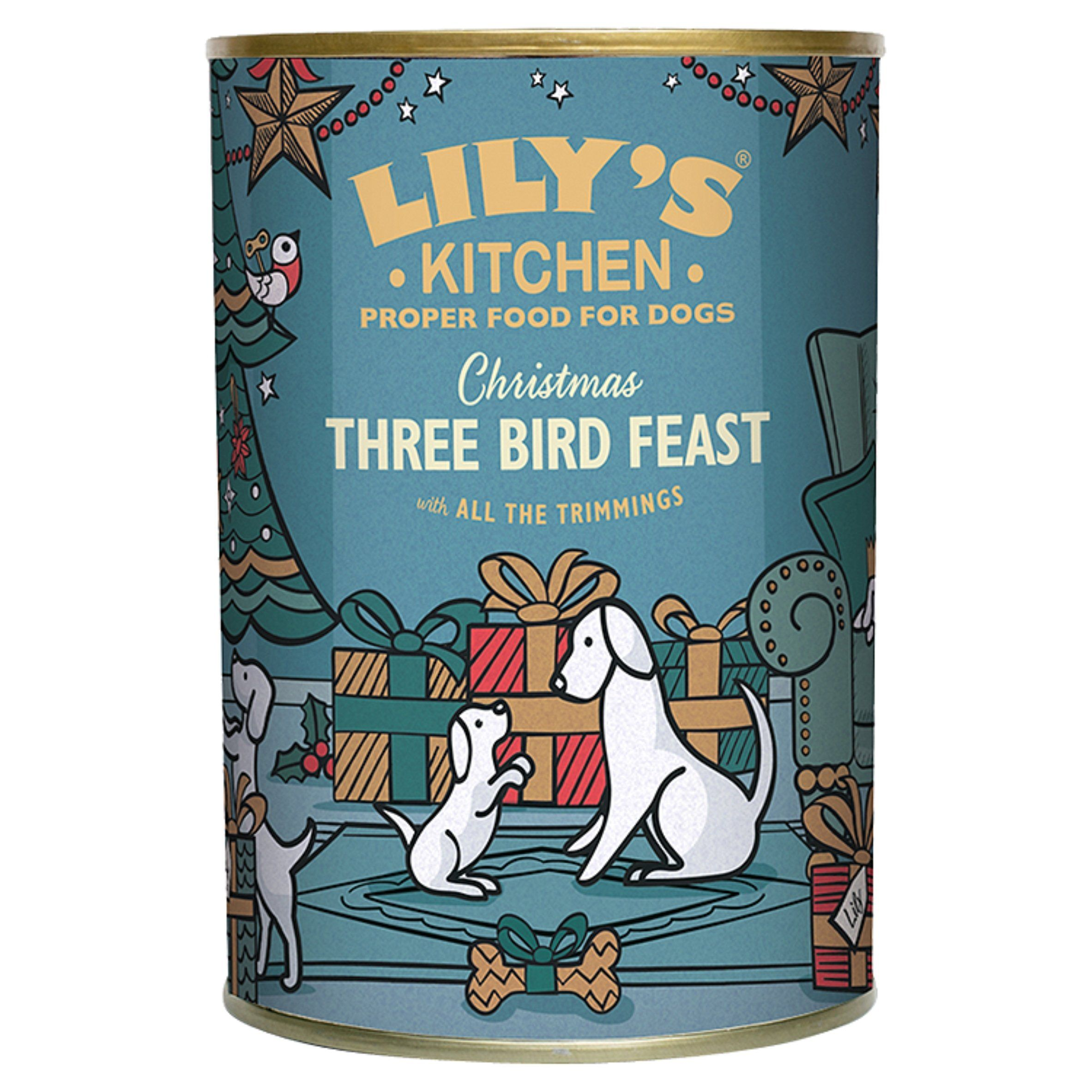Christmas Three Bird Feast for Dogs (400g) Three birds