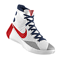 I designed the white Arizona Wildcats Nike men's basketball shoe with cardinal red and white trim.