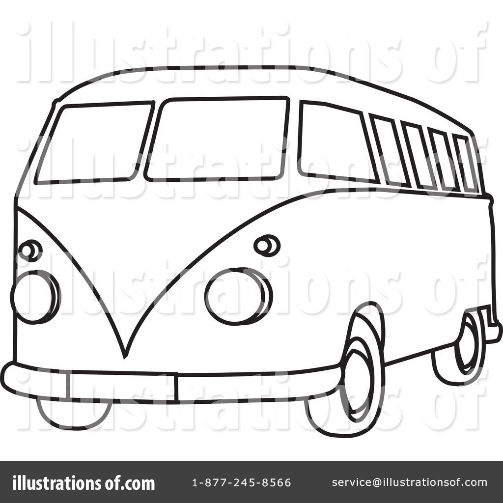 colouring pages van : Go Back Images For Van Clipart Black And White Clipart Black And Whitecolouring Pages