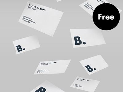 Free floating business card mockup psd mockup business cards and free floating business card mockup psd colourmoves