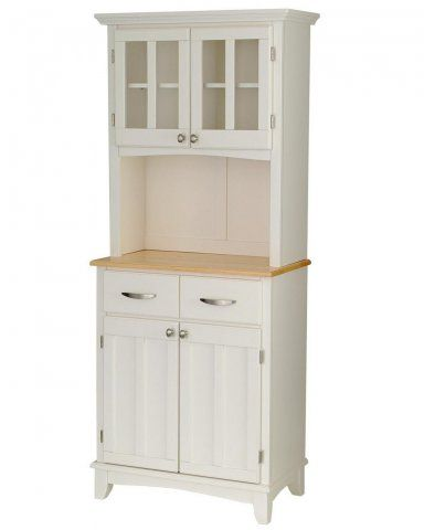 buffet of buffets 5001 with wood top and hutch tall microwave hutch rh pinterest com white microwave cabinet with hutch microwave storage cabinet with hutch