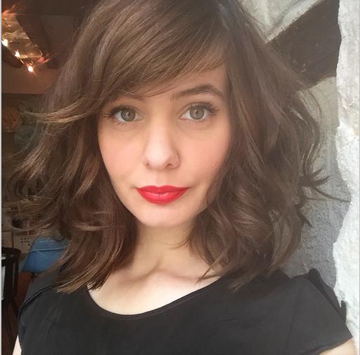 Coiffure cheveux milongs 2015 en 2019 Coiffure cheveux