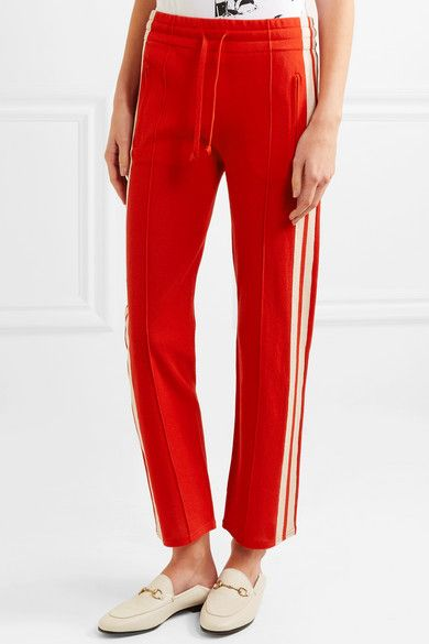 Dobbs Striped Jersey Track Pants - Red Isabel Marant Factory Price Cheap Sale Comfortable Finishline Discount Fashion Style Discount The Cheapest 6MHOEJk2L