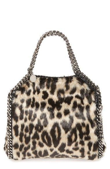 cdee91c4a409 Free shipping and returns on Stella McCartney  Mini Falabella  Faux Fur  Crossbody Bag at