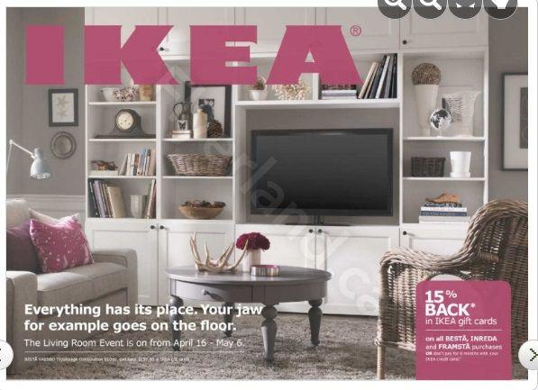 Ikea Living Room Event April 2013 Besta Vassbo Tv
