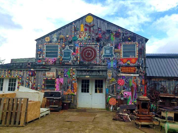 Getting Stitched on the Farm: An Artful Gem in Western Mass