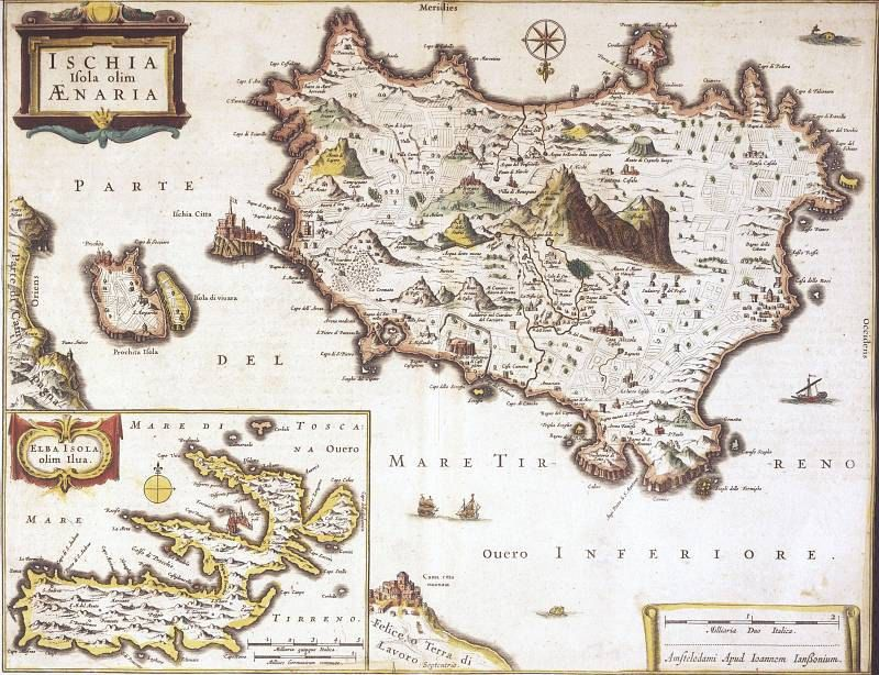 Ischia ancient map maps pinterest ischia ancient maps antique world maps old world by mapsandposters gumiabroncs