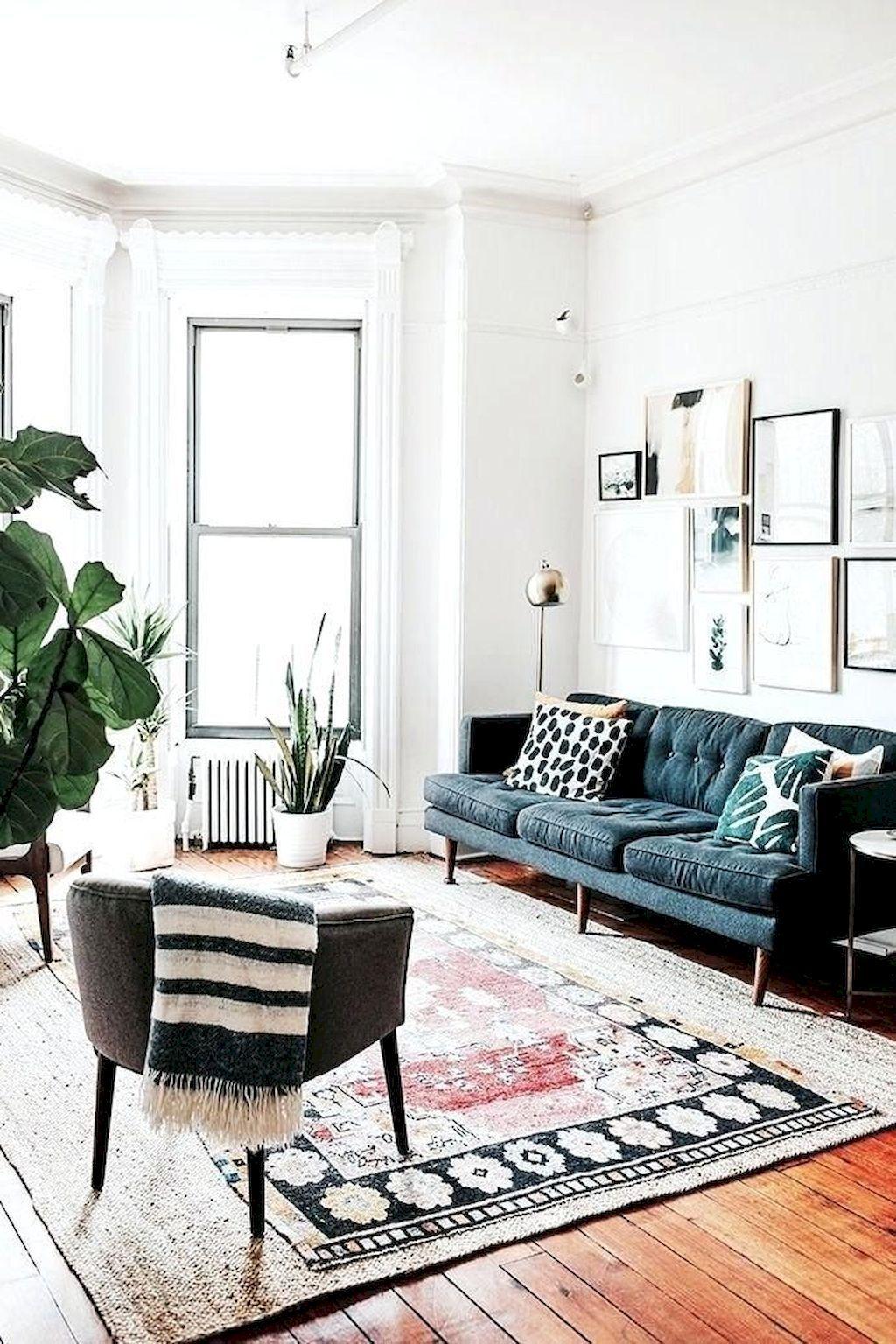 75 Modern Bohemian Living Room Decor Ideas Homekover Family Living Room Design Living Room Scandinavian Dreamy Living Room