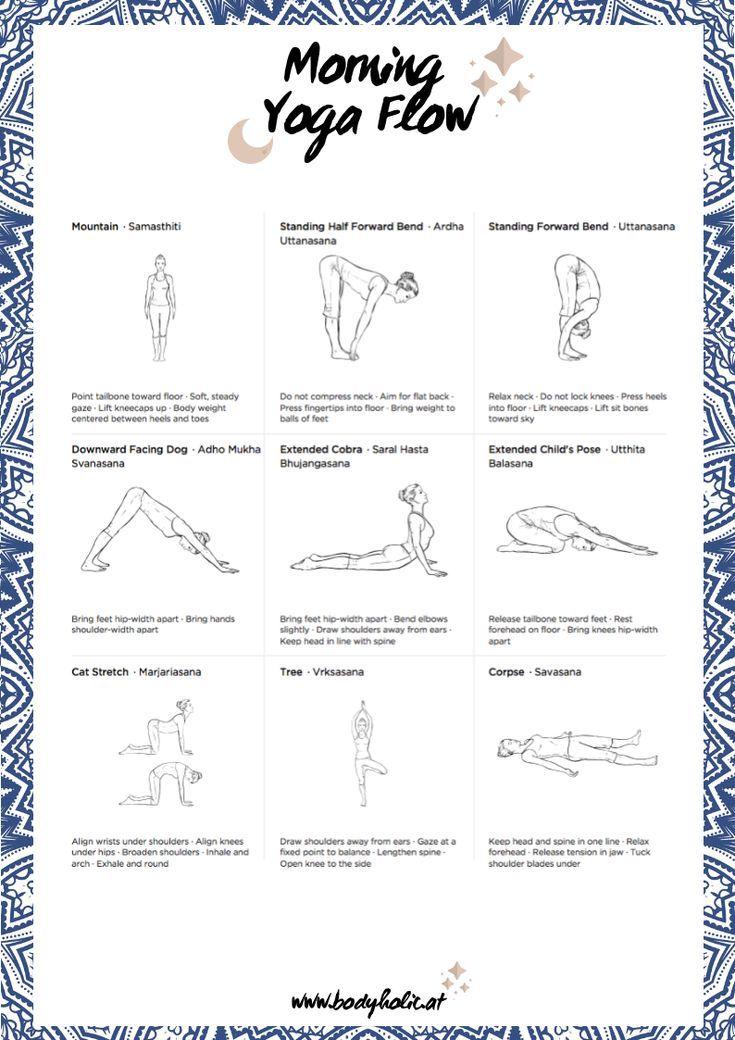 Mein Morning Yoga Flow für einen guten Start in den Tag #yogaypilates