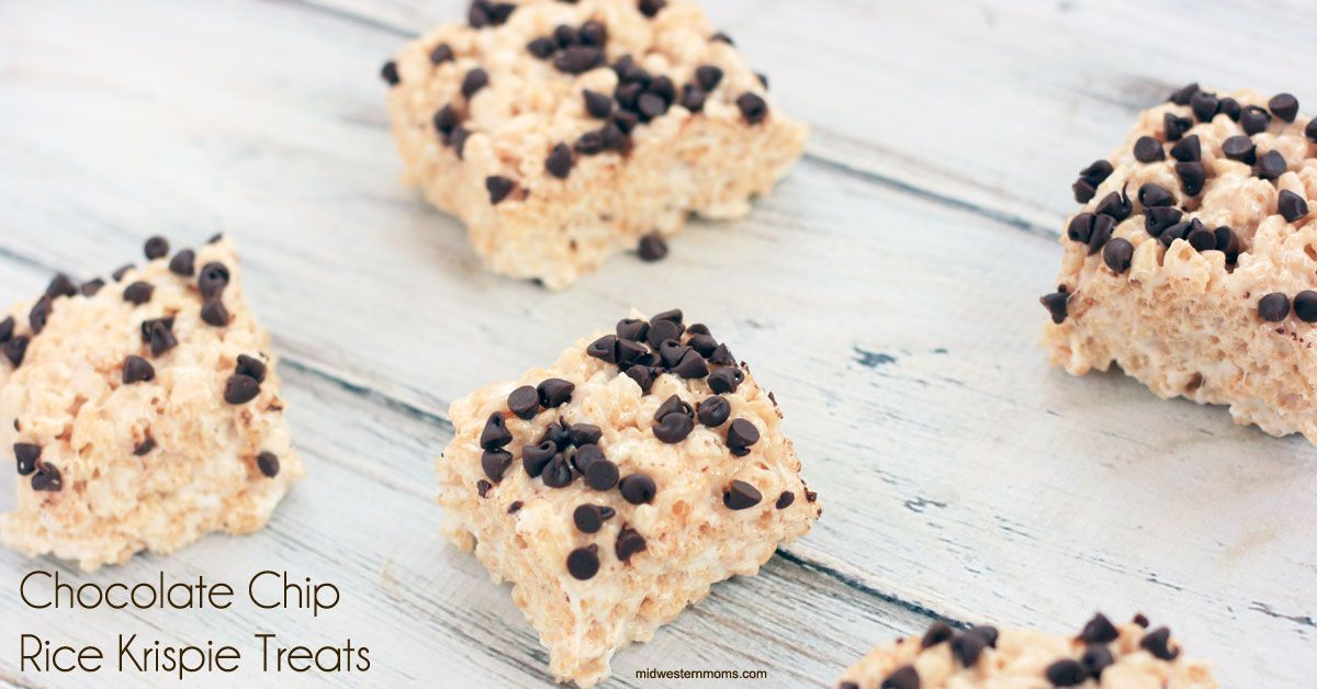 Chocolate Chip Rice Krispie Treats Recipe Best rice