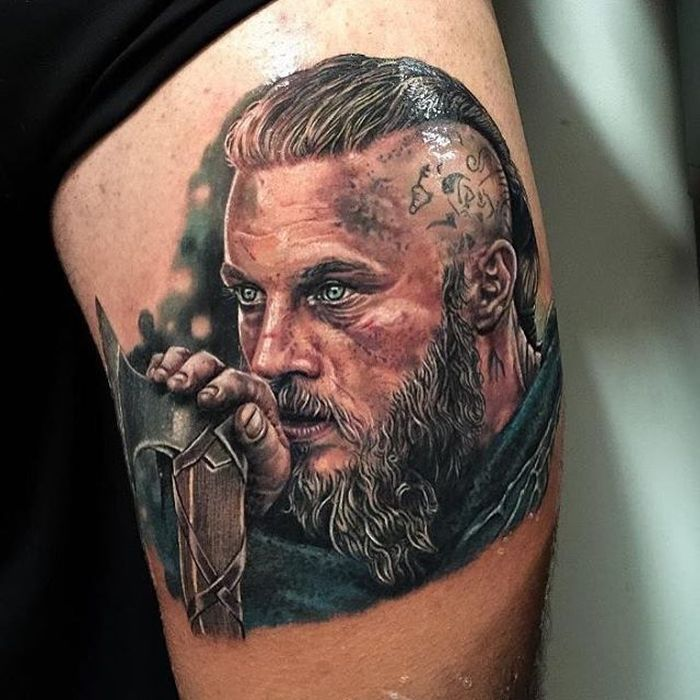 20 of the most beautiful movie inspired tattoos tattoo for Did vikings have tattoos
