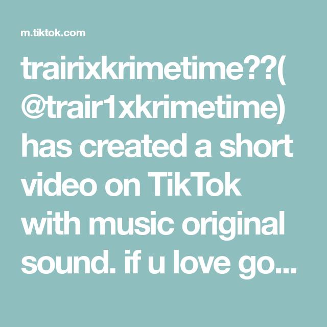 Trairixkrimetime Trair1xkrimetime Has Created A Short Video On Tiktok With Music Original Sound If U Love God C Boyfriend Problems Circuit Projects Music