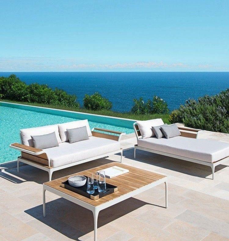 impressionnant salon de jardin moderne | Décoration ...
