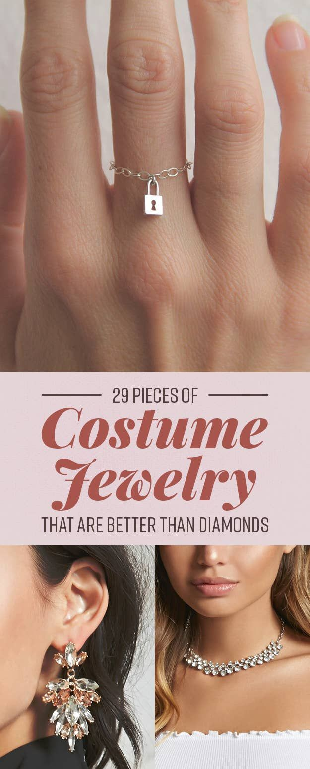 Buzzfeed 7 Rings: 29 Pieces Of Costume Jewelry That Are Better Than Actual