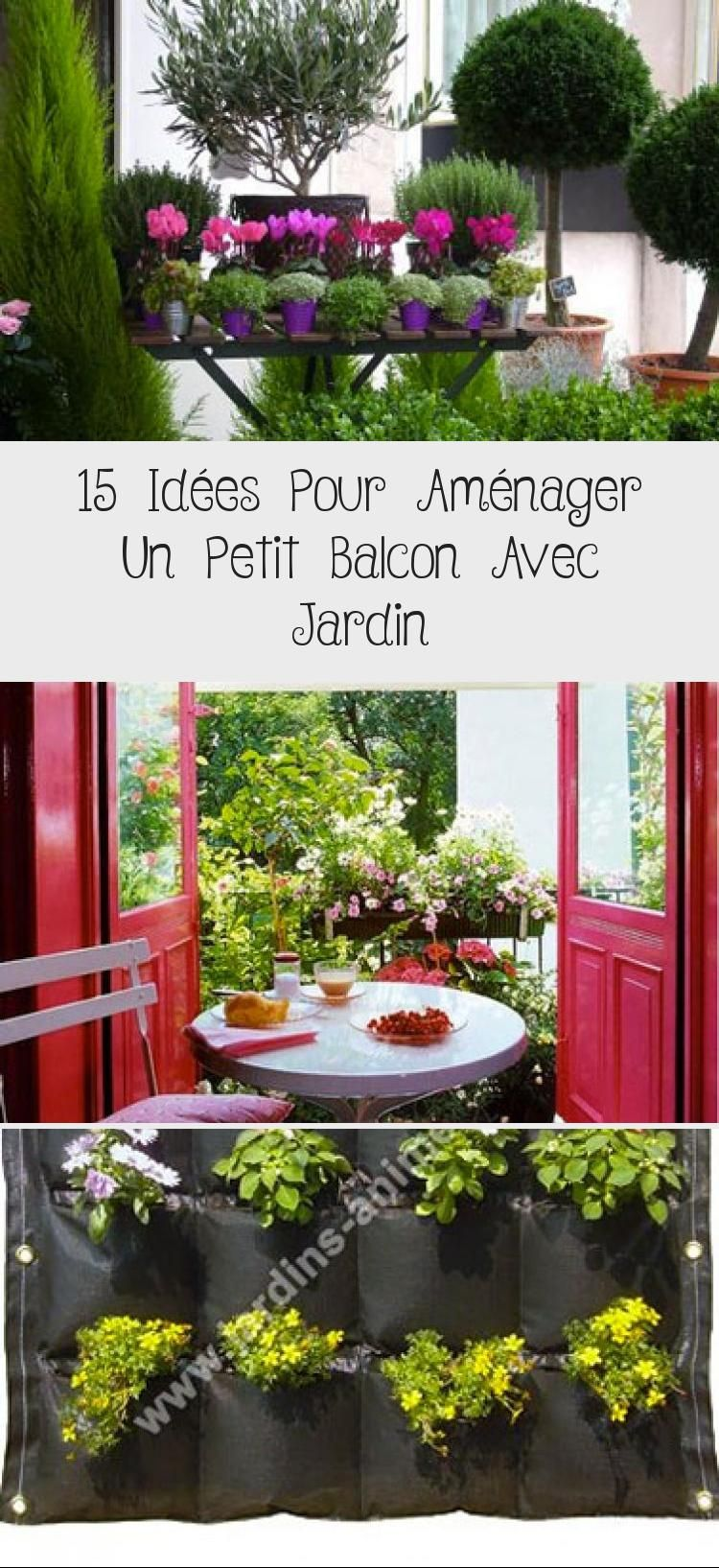 15 Idees Pour Amenager Un Petit Balcon Avec Jardin Petunias Pot De Plants
