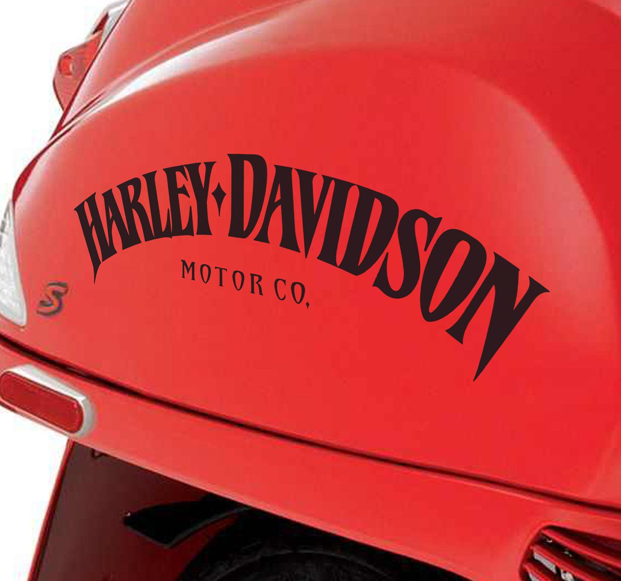 A Great Sticker Of The Harley Davidson Classic Lettering To - Stickers for motorcycles harley davidsonsharley davidson decalharley davidson custom decal stickers