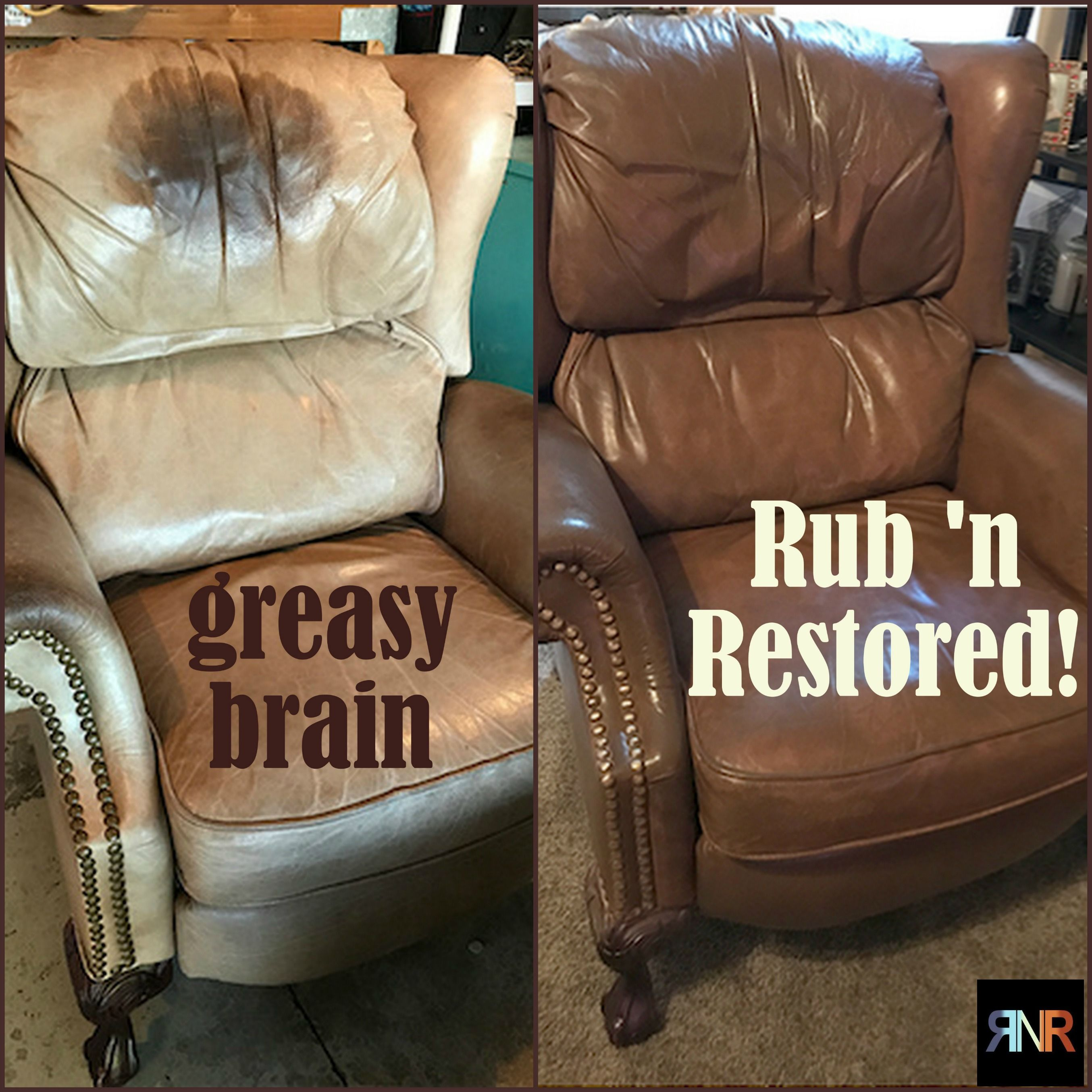 Restoring Leather Sofa Colour Small Bed Walnut Vinyl And Dye In 2019 Real 39n Restored