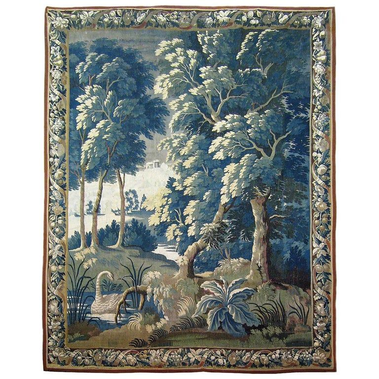 Antique Tapestry For Sale Background
