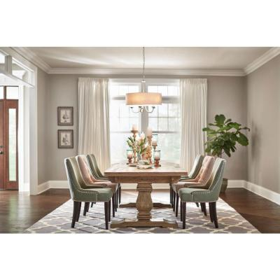 High Quality Home Decorators Collection Aldridge Extendable 9 Ft. Antique Grey Dining  Table 1673000270   The