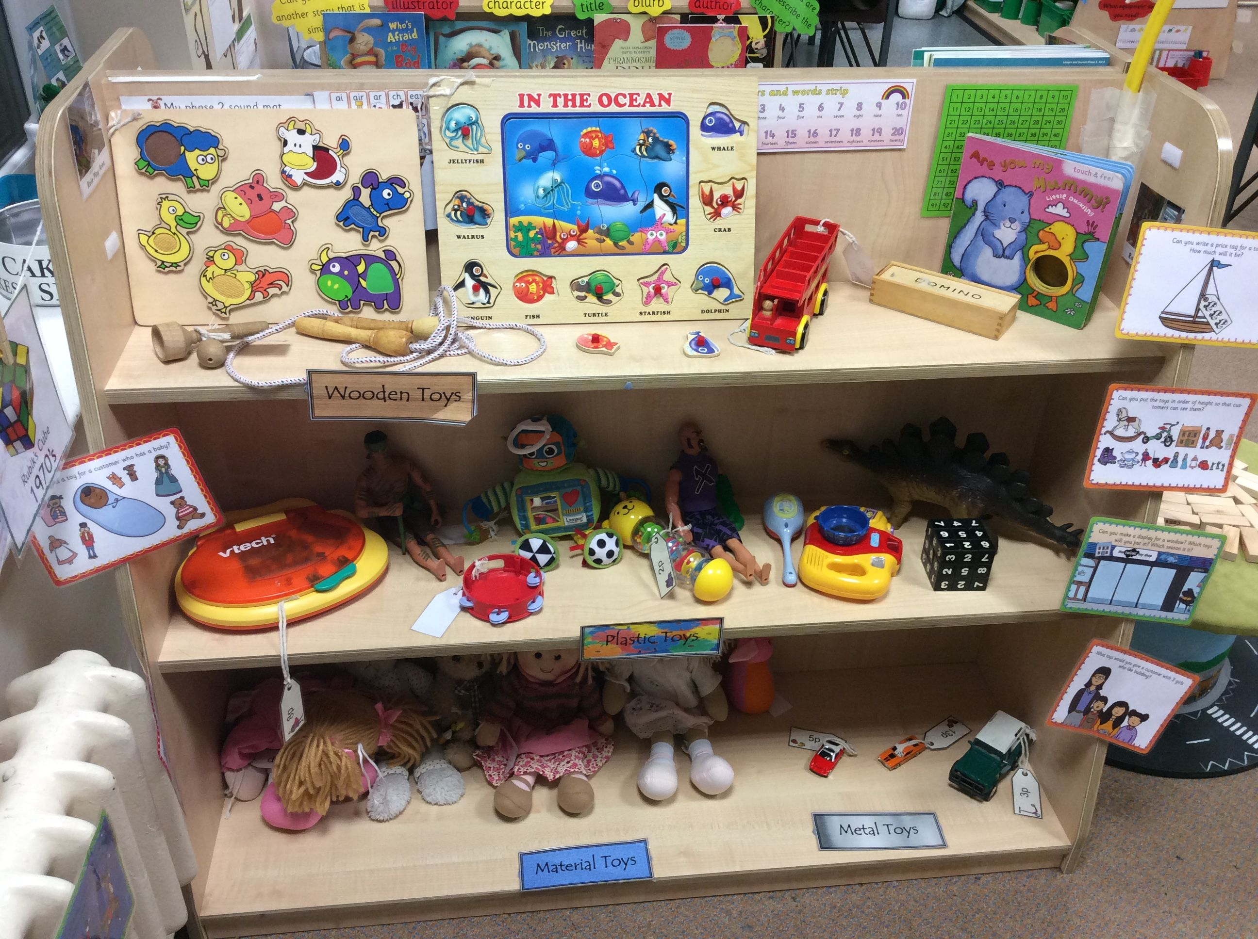 Toy Store Dramatic Play | Dramatic play