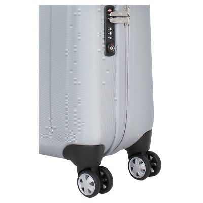 SwissGear 20 Carry On Luggage - Silver
