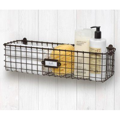 Laurel Foundry Modern Farmhouse Ricardo Wall Baskets Baskets On Wall Wall Storage Wire Wall Basket