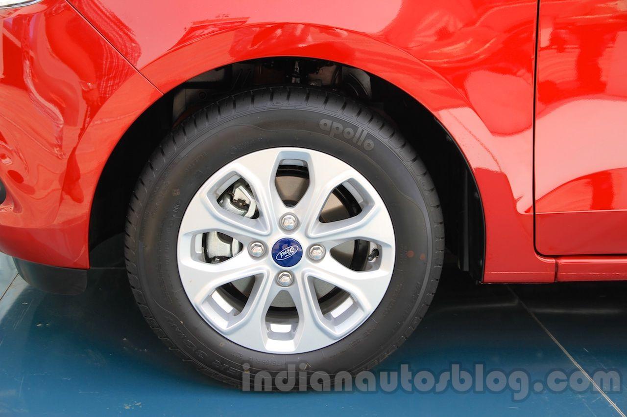 Ford Figo Aspire Makes Public Debut Interior Revealed Alloy