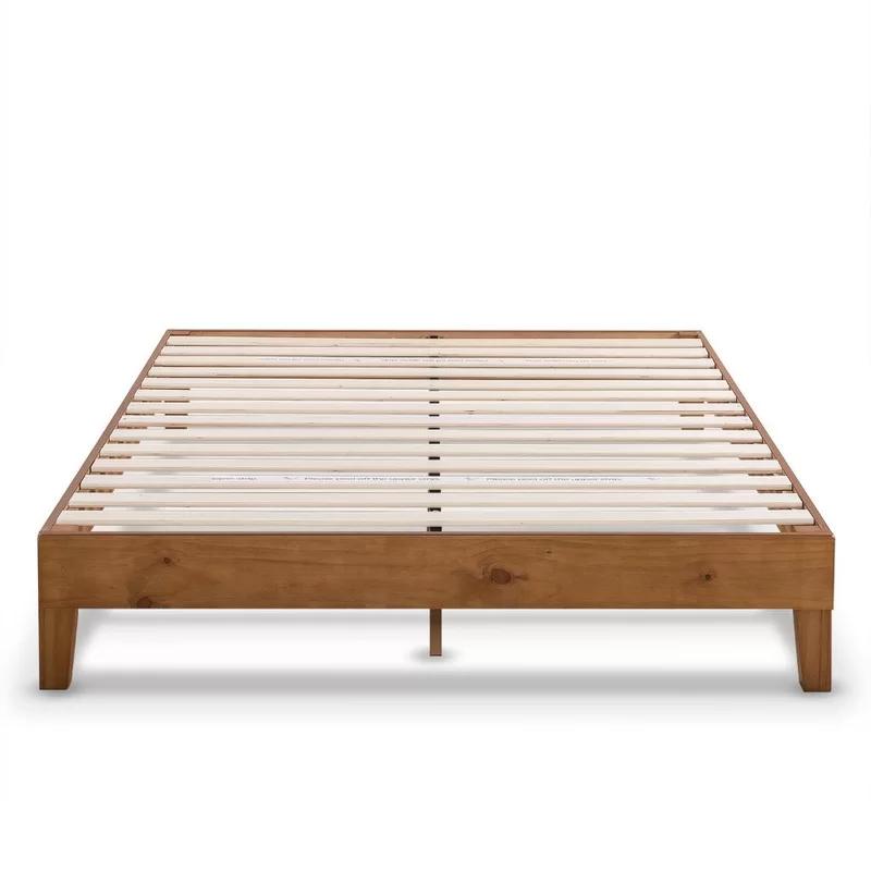 Harney Platform Bed Frame With Images Wood Platform Bed Frame