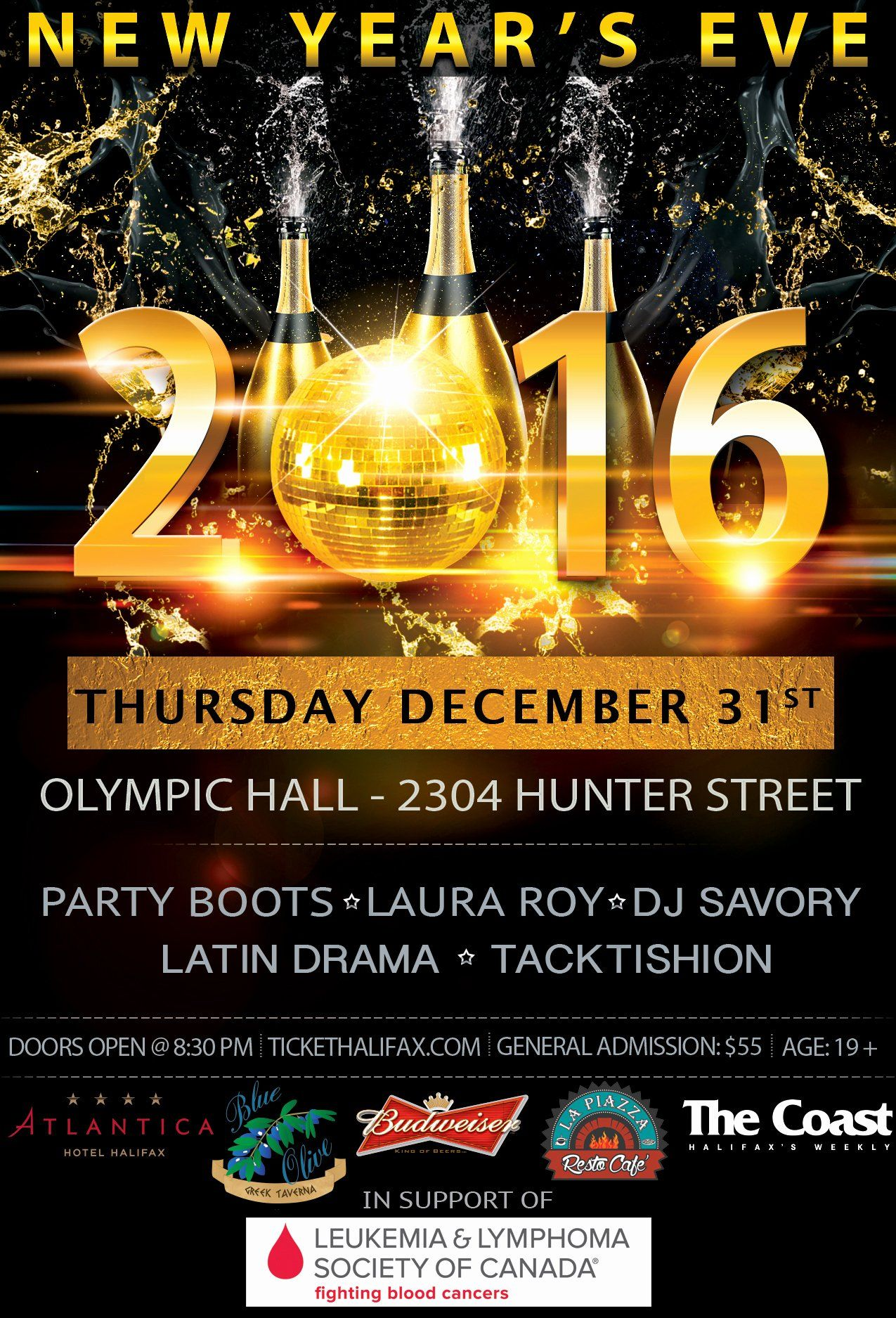 New Years Eve Flyer New New Year S Eve 2016 Party Boots Dj ...