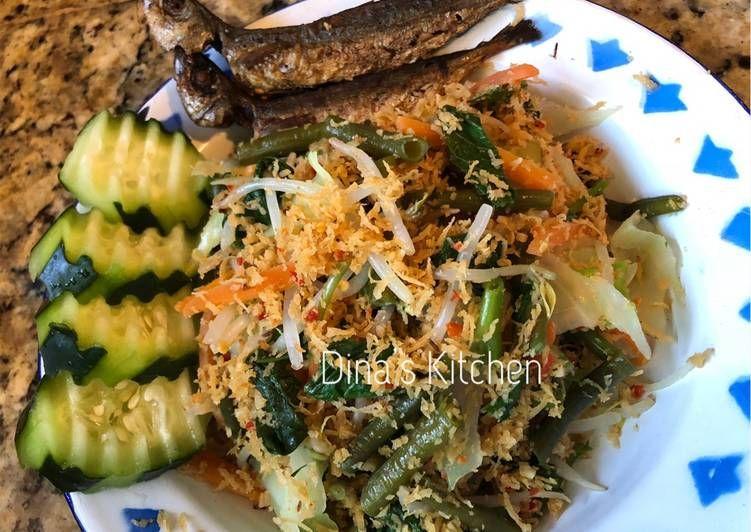 Resep Urap Sayur Oleh Dessy Fitria Hermawan Resep Ide Makanan Resep Masakan Masakan