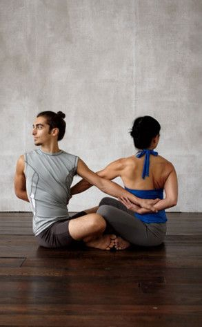 zen fitness with mandy yoga for your heart  partner yoga