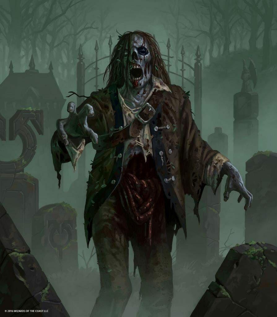 Pin By Randyll Blackwood On Necromancer Zombie Illustration Scary Art Creature Artwork