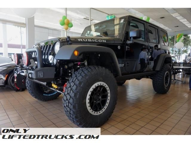 Custom 2017 Jeep Wrangler Unlimited Rubicon Aev Lifted In Glendale