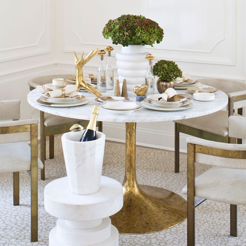 10 Awesome Modern Dining Table Ideas That You Will Adore Round
