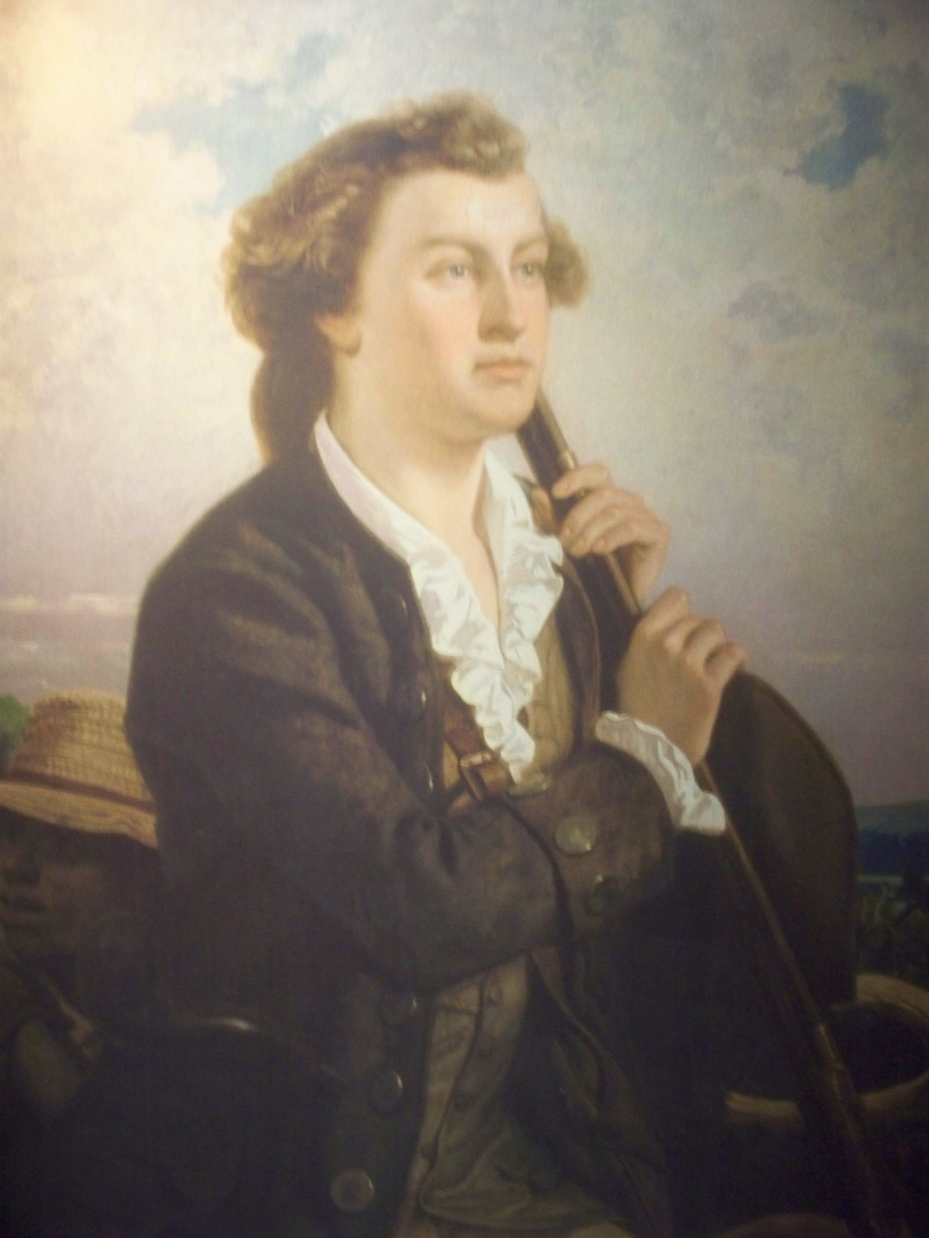 George Washington As A Young Boy
