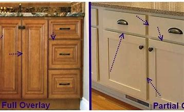 19+ Partial overlay shaker cabinets best