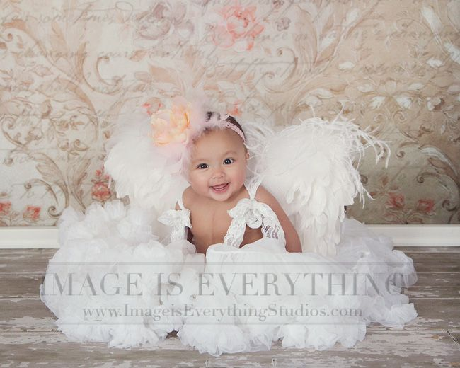 Angel baby valentines session nj valentines day photography by desiree miller