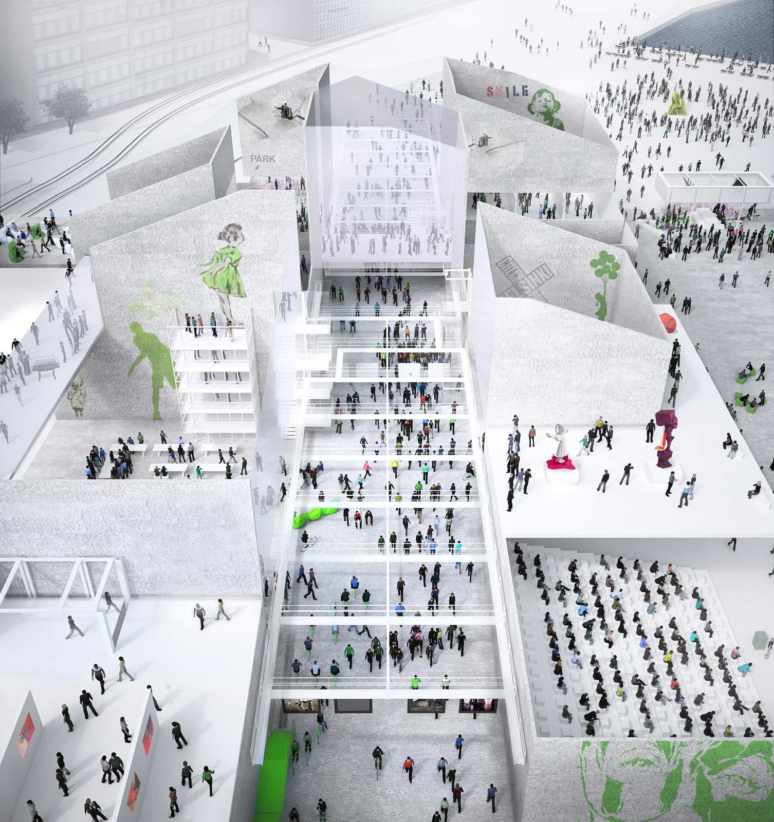 Architecture · Finalist SMAR Architecture Studio U2014 Guggenheim Helsinki Design  Competition