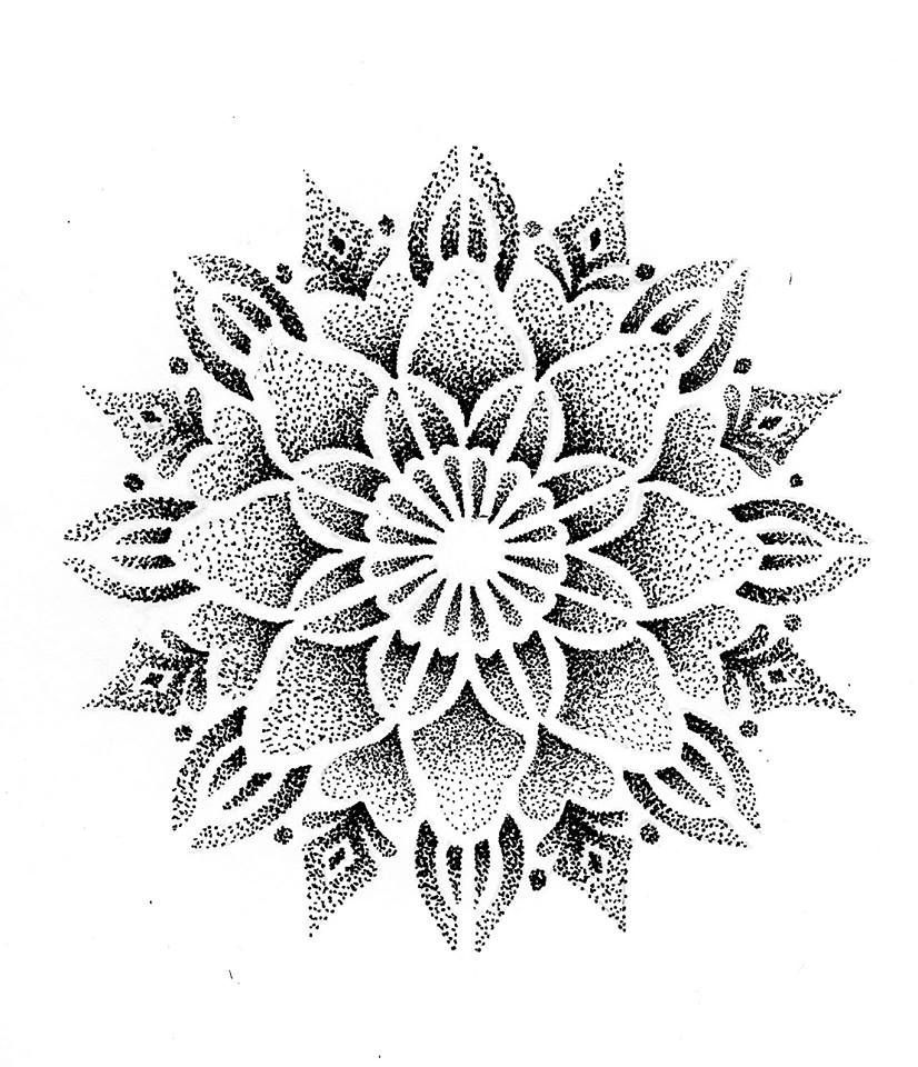 Photo of Mandala dot work