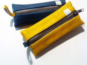 Coudre une Trousse Plate Doublée - Tutoriel Couture et DIY - Viny DIY, le blog de tutoriels et patrons couture et DIY.