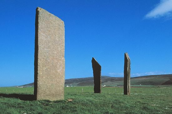 Stones of Stenness - The site dates back to about 2970 BC.