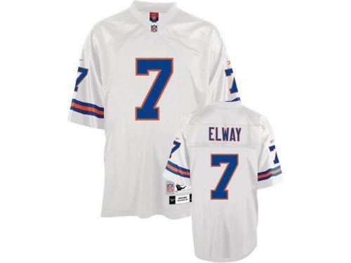 Denver Broncos Reebok White John Elway Reebok NFL Retro Jersey | Lids.com