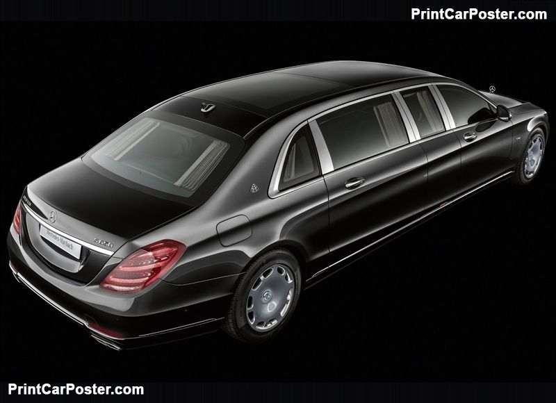 Mercedes Benz S650 Pullman Maybach 2019 Poster With Images
