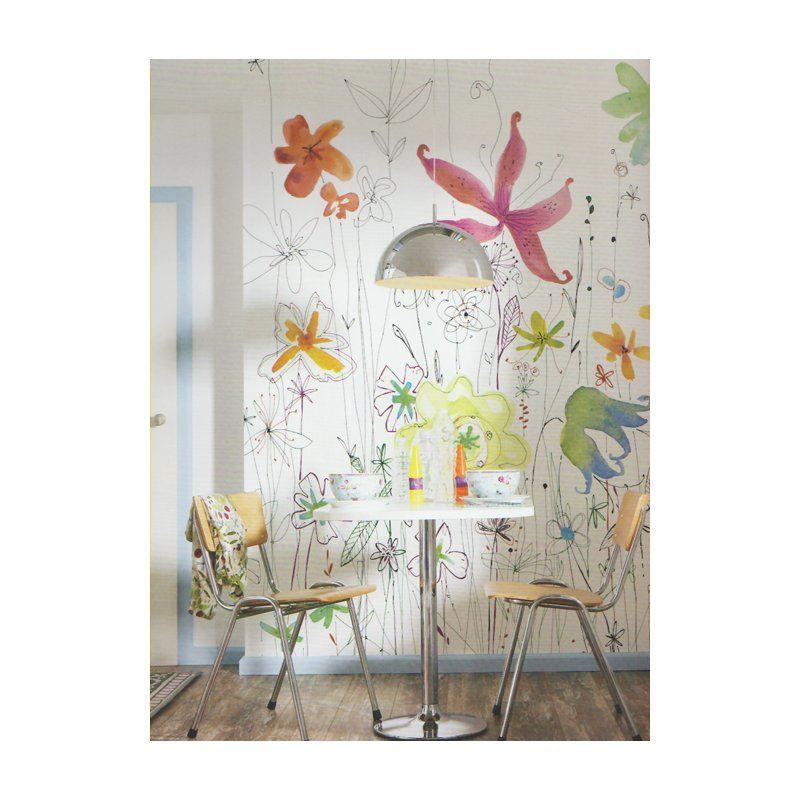 Fotobehang komar munich joli breng vrolijke kleuren in for Decoration murale wayfair