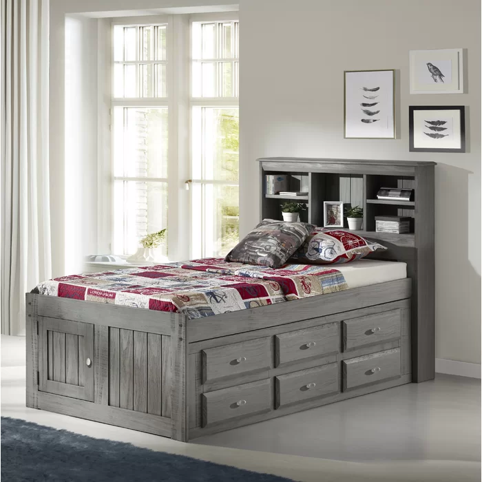 Best Giulia Twin Mate S Bed With Drawers And Bookcase In 2020 400 x 300