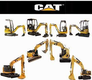 price list cat excavators / daftar harga cat excavators