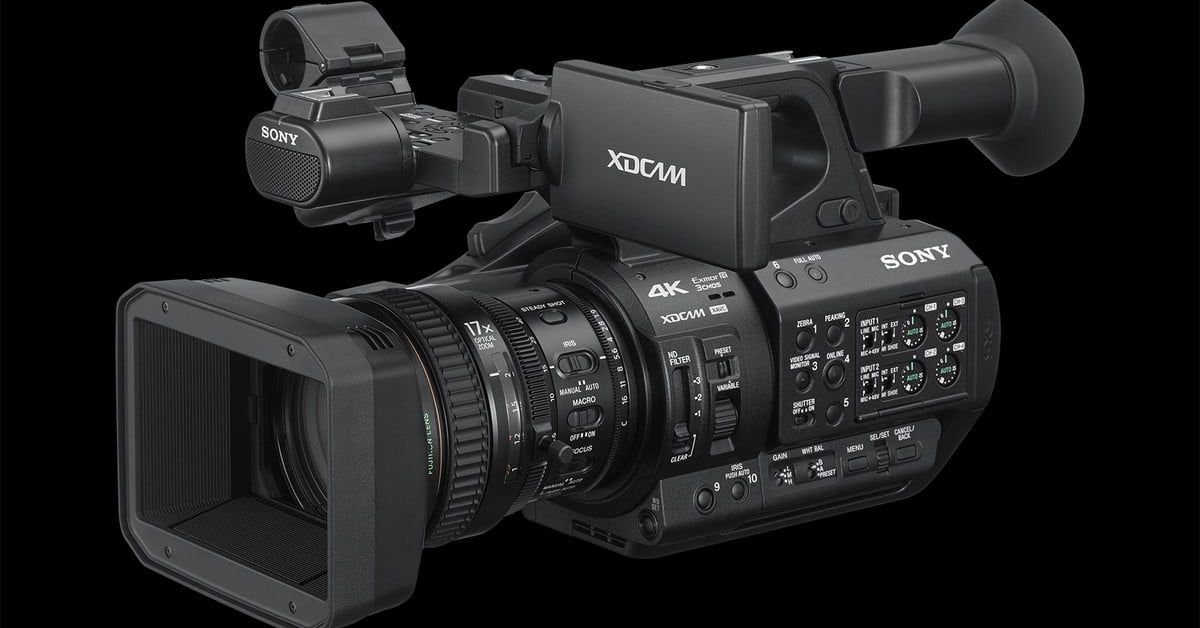 The Sony Pxw Zs280 Uses Three Sensors For 120 Fps 4k Sony Camera Photography