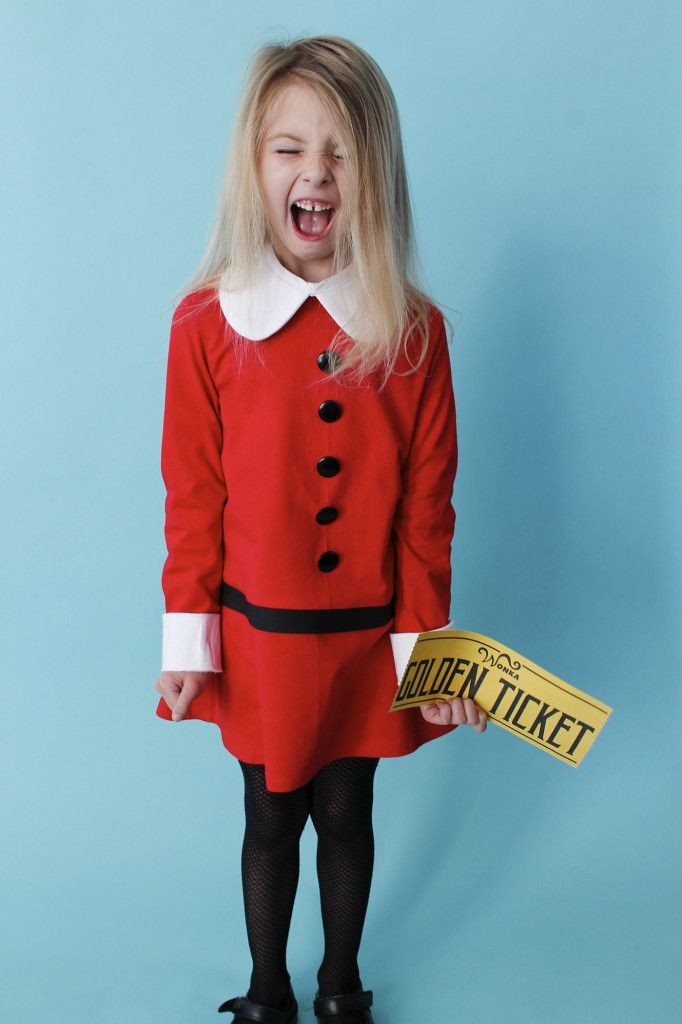 book week costume veruca salt halloween 2015 book week