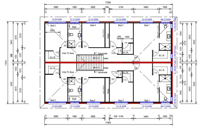 6 bedroom house floor plans australia