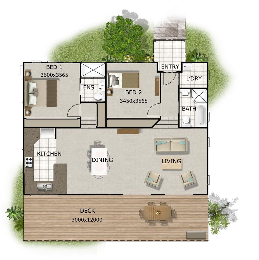 House Plans, Bedroom House Plans